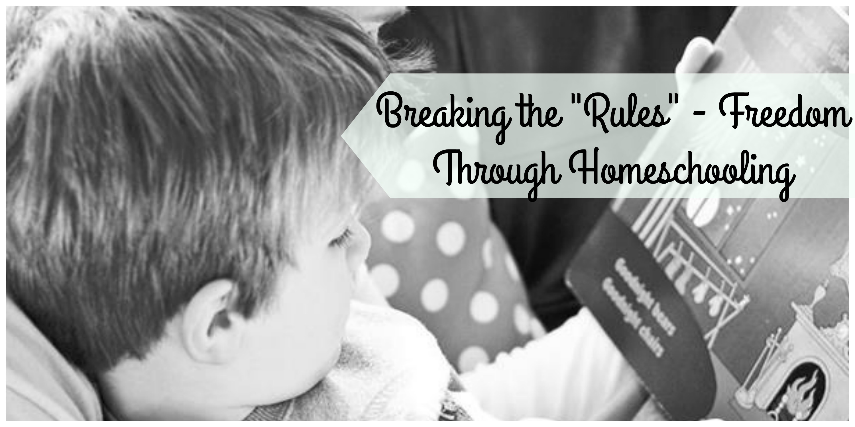 "Breaking the Education ""Rules"" Through Homeschooling"