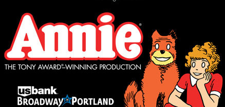 Leapin' Lizards! Annie is in Portland! Get Your Tickets Now!