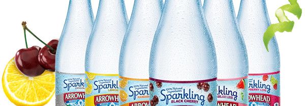 Take the #7DaysofSparkling Challenge with Arrowhead® Brand Sparkling Spring Water