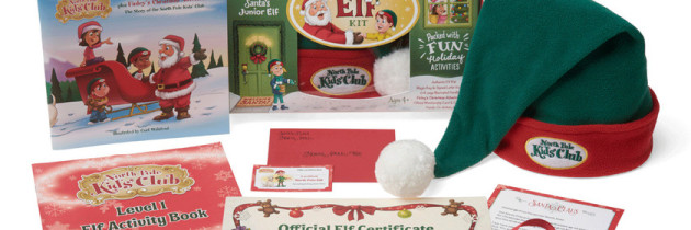 North Pole Kids Club: Fun Holiday Kit For Kids and Families
