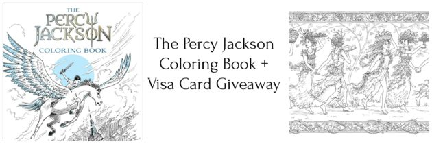 The Percy Jackson Coloring Book + Giveaway!