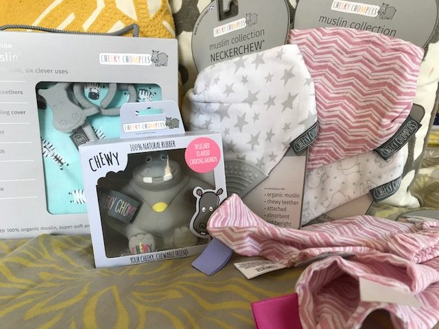 Cheeky Chompers: Stylish Multi-Use Products for Mom and Baby