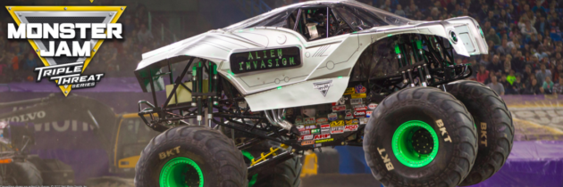 Monster Jam® Triple Threat Series is Coming to Portland, Oregon!